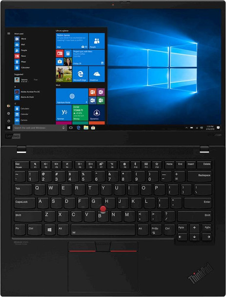 "Lenovo X1 Carbon Business Notebook - Intel i5 - 8350U, 8GB RAM, 256GB SSD, 14"" Display, Windows 10 Pro"
