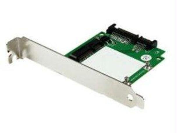 Startech Sata To Msata Ssd Adapter W/ Full And Low Profile Brackets Sata To Mini Sata Con