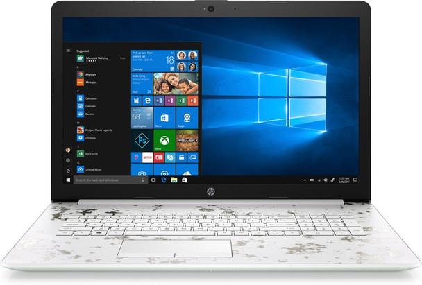 "HP 15-DB1010CY Laptop – AMD Ryzen 5 – 2.10GHz, 8GB RAM, 1TB HDD, 15.6"" Touch, Ceramic White"