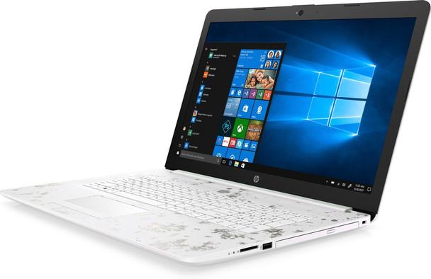 "HP 15-DB1005CY Laptop – AMD Ryzen 5 – 2.10GHz, 8GB RAM, 1TB HDD, 15.6"" Display, Ceramic White"