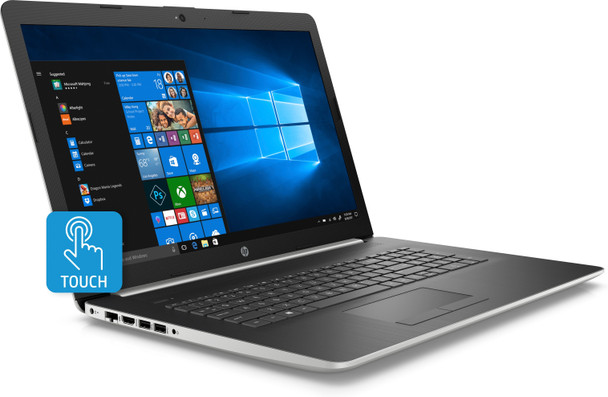 "HP Laptop 17-by1055cl - Intel i5, 12GB RAM, 1TB HDD, Radeon 530 2GB, 17.3"" Touchscreen"