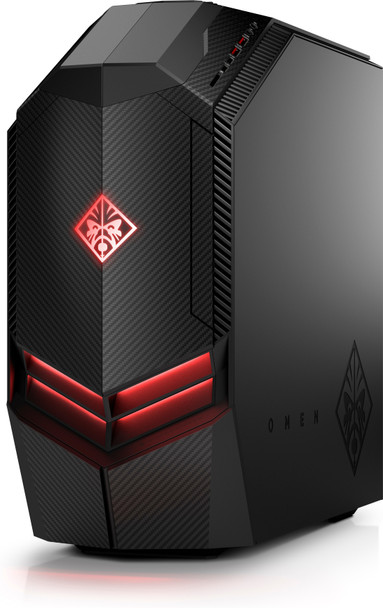 HP Omen 880-191 Gaming PC – Intel i7 – 3.60GHz, 16GB RAM, 2TB HDD, 512GB SSD, GeForce RTX 2080Ti 11GB