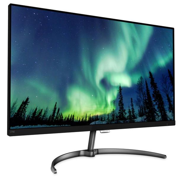 """Philips 276E8VJSB/27 (27"""") 3840 x 2160 pixels 4K Ultra HD LCD Flat Black Computer Monitor"""