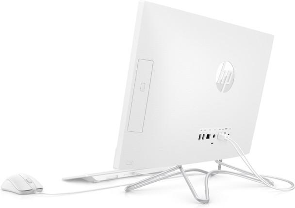 """HP 24-F1047C – 23.8"""" Touchscreen, AMD Ryzen 3 – 2.60GHz, 8GB RAM, 1TB HDD, Silver"""