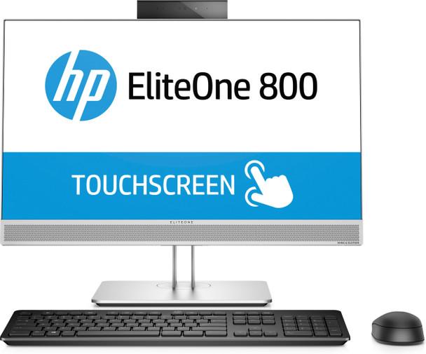 "HP EliteOne 800 G4 AIO PC | 23.8"" Touch - Intel i5 - 3.00GHz, 8GB RAM, 256GB SSD, Windows 10 Pro"