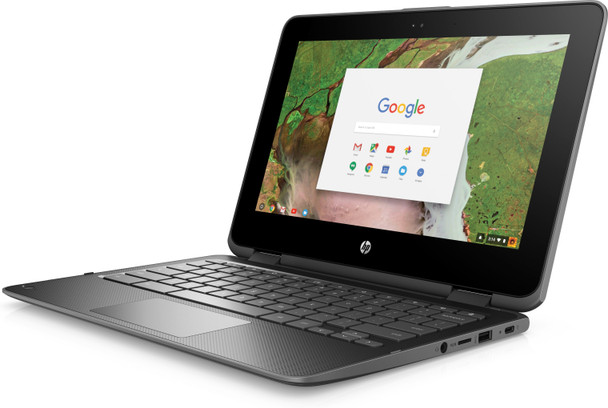 "HP Chromebook x360 11 G1 EE - Intel Celeron, 4GB RAM, 32GB SSD, 11.6"" Touchscreen"