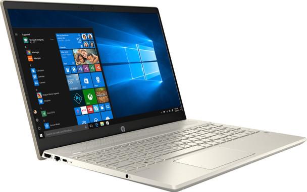 "HP Pavilion Laptop 15-cs2013ms - Intel i5, 8GB RAM, 128GB SSD, 15.6"" Touchscreen, Gold"