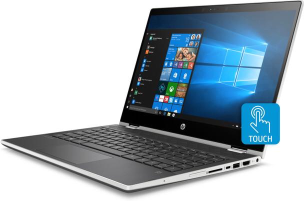 "HP Pavilion x360 Convertible 14-cd1010nr -Inteli5, 8GB RAM, 256GB SSD, 14"" Touchscreen"