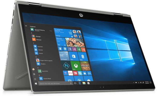 "HP Pavilion X360 – 14-CD1055CL - Intel Core i5, 8GB RAM, 256GB SSD, 14"" Touchscreen, Silver"