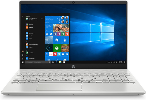 "HP Pavilion 15-CS1065CL - 15.6"" Touch, Intel i5, 8GB RAM, 256GB SSD, Silver"