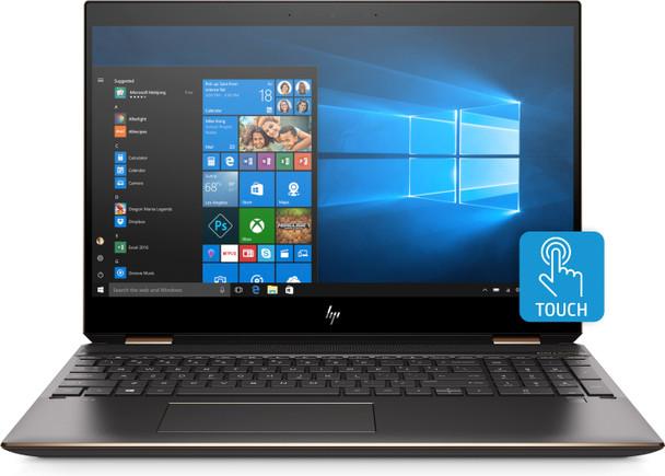 "HP Spectre x360 Convertible 15-df0033dx - Intel i7, 512GB SSD, 16GB RAM, MX150 2GB, 15.6"" 4K Touchscreen, Ash Silver"