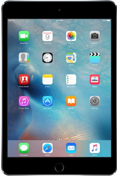 "Apple iPad Mini 4 - 1.50GVHz, 128GB SSD, 7.9"" Touchscreen, Gray"