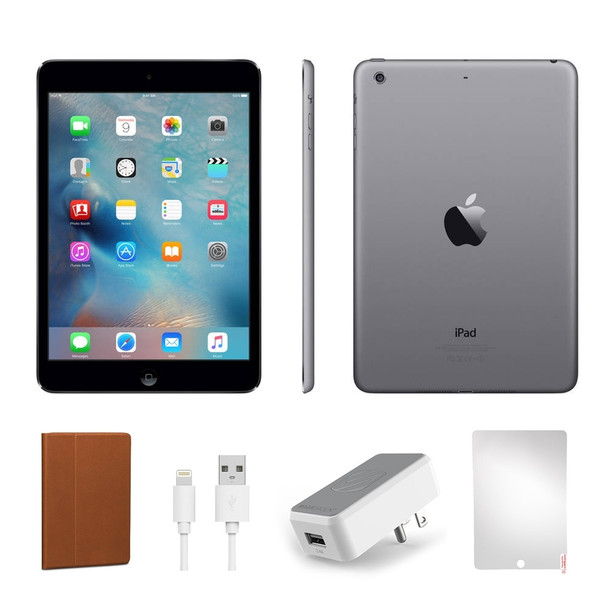 "Apple iPad Mini 16GB, 7.9"" Black Bundle"