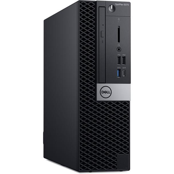 Dell Optiplex 5070 SFF PC - Intel i3 – 3.60GHz, 16GB RAM, 256GB SSD, Windows 10 Pro