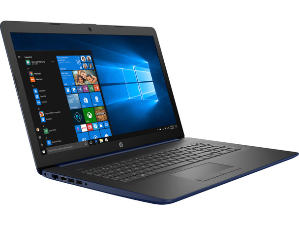 """HP 17-BY0019CY Laptop – Intel Pentium 2.30GHz, 8GB RAM, 1TB HDD, 17.3"""" Touch, Lumiere Blue"""