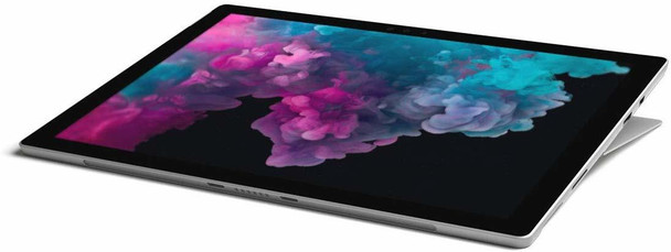 "Microsoft Surface Pro 6   Intel Core i7, 8GB RAM, 256GB SSD, 12.3"" Touchscreen, Windows 10 Home, Platinum, KJU-00001"