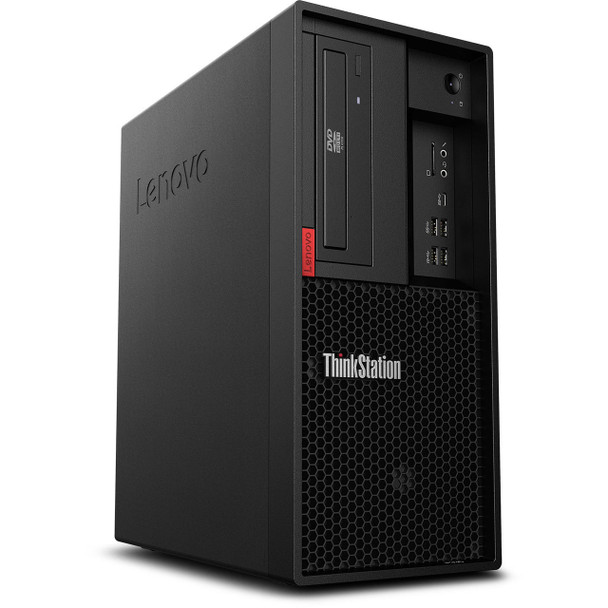 Lenovo ThinkStation P330 Tower - Intel i7 – 3.20GHz, 16GB RAM, 512GB SSD, Quadro P1000 4GB, Windows 10 Pro, 30C5000KUS