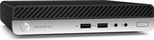 HP ProDesk 400 G4 Mini – Intel i5 – 2.10GHz, 8GB RAM, 1TB HDD, Windows 10 Pro 64, 4AC93UT