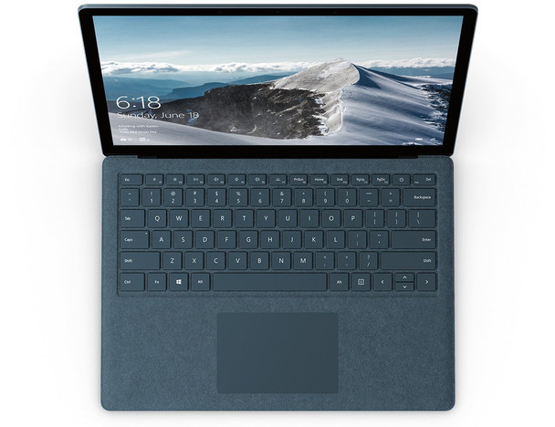 "Microsoft Surface Laptop 2 - Intel Core i7, 8GB RAM, 256GB SSD, 13.5"" Touchscreen, Windows 10 Pro, Cobalt Blue, LUV-00005"