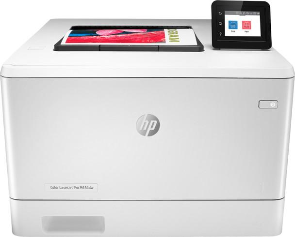 HP Color Laserjet Pro M454dw Printer 28ppm 600x600dpi 300-sheet
