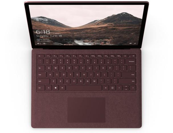 "Microsoft Surface Laptop 2   Intel i7, 16GB RAM, 512GB SSD, 13.5"" Touchscreen, Windows 10 Pro, Burgundy"