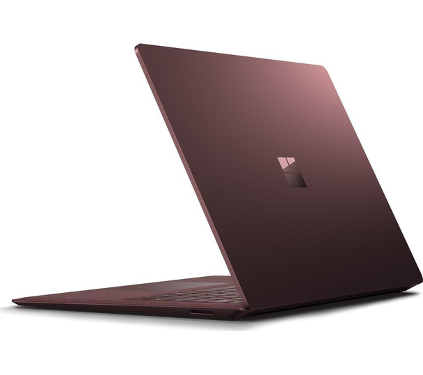 "Microsoft Surface Laptop 2   Intel i7, 8GB RAM, 256GB SSD, 13.5"" Touchscreen, Windows 10 Pro, Burgundy"