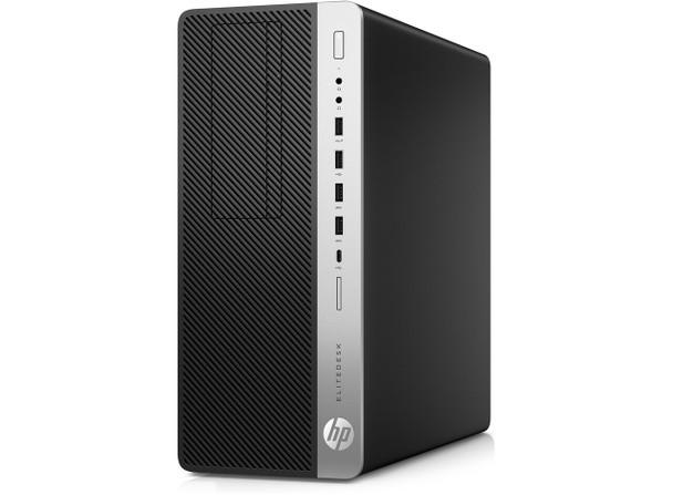 HP EliteDesk 800 G4 Tower - Intel i5, 8GB RAM, 256GB SSD, Windows 10 Pro, 4BB18UT
