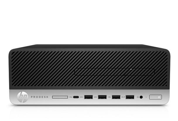 HP ProDesk 600 G4 SFF - Intel i5, 8GB RAM, 512GB SSD, Windows 10 Pro, 4HJ15UT