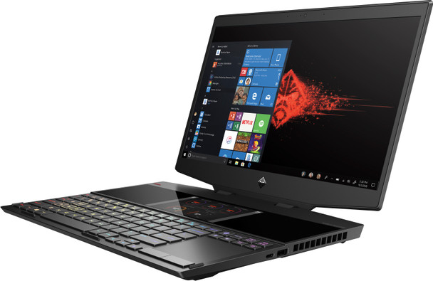 "HP Omen X 2S 15-DG0075CL Gaming Laptop – 15.6"" Display, Intel Core i7, 24GB RAM, 1TB SSD, RTX 2070 8GB, Windows 10, Black, 7PE72UA"