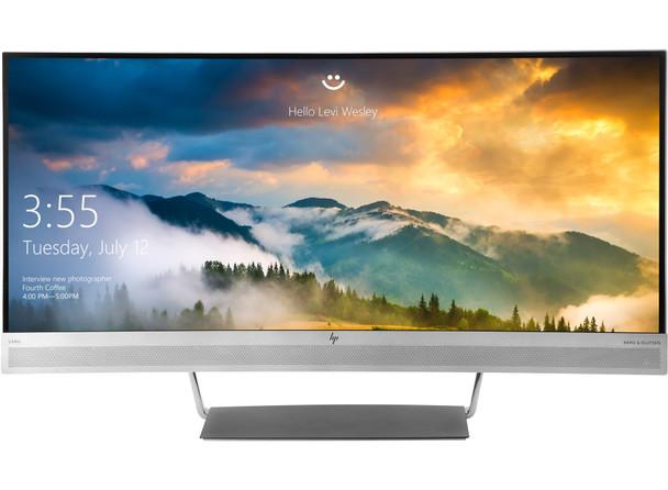 HP EliteDisplay S340c 34in Ultra-Wide Quad HD LED Curved Computer Monitor