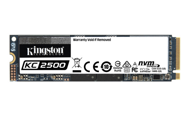 Kingston 250GB KC2500 M.2 2280 NVMe Solid State Drive