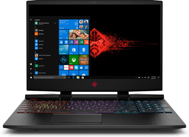 "HP OMEN Laptop 15-dc1086nr - 15.6"" Display, Intel i7, 12GB RAM, 256GB SSD, GeForce GTX 1650 4GB"