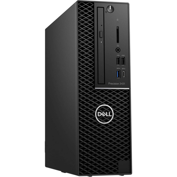 Dell Precision 3431 SFF Workstation | Intel Core i7 - 3.00GHz, 16GB RAM, 512GB SSD, Radeon Pro WX3100 4GB, Windows 10 Pro