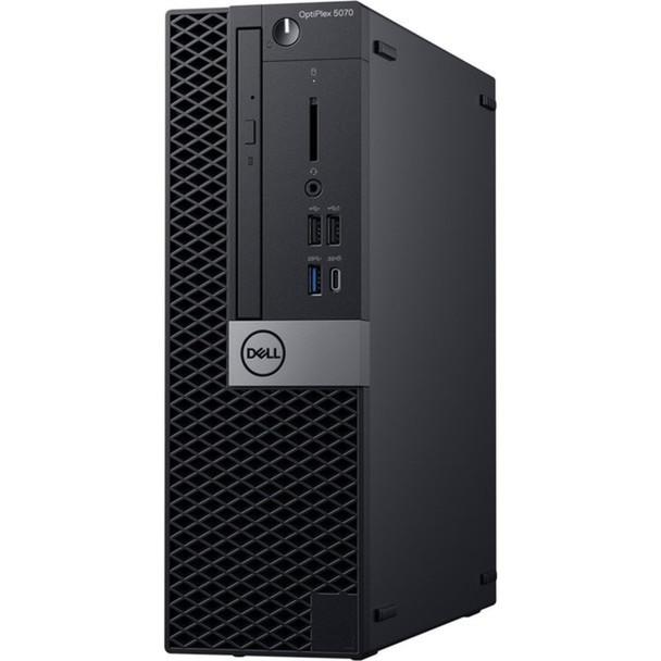 Dell Optiplex 5070 SFF PC - Intel i7 – 3.20GHz, 16GB RAM, 256GB SSD, Windows 10 Pro