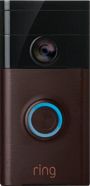 Ring Video Doorbell 1 Venetian Bronze