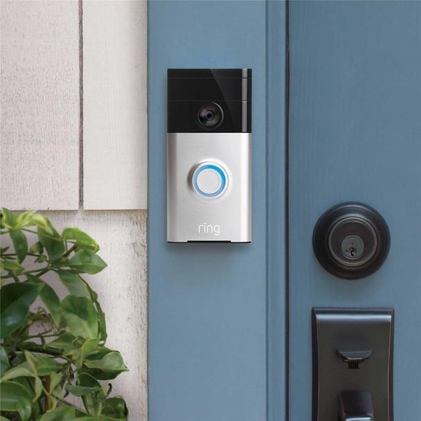 Ring Video Doorbell 1 Satin Nickel