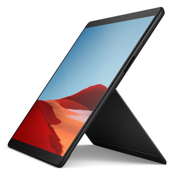 "Microsoft Surface Pro X Tablet   SQ1 1.80GHz, 16GB RAM, 512GB SSD, 13"" Touchscreen, Windows 10 Pro, Black"