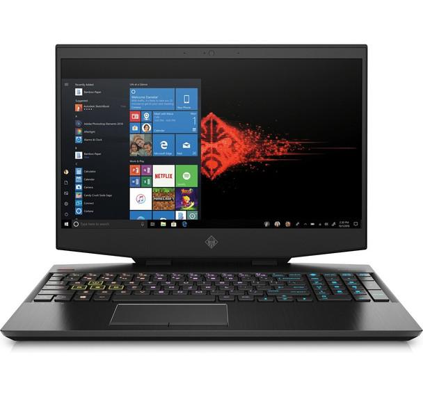 "HP OMEN 15-dh1020nr - 15.6"" Display, Intel i7-10750H, 8GB RAM, 512GB SSD, GeForce GTX 1660Ti 6GB"