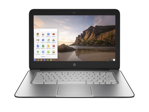 "HP Chromebook 14 G1 – Intel Celeron, 4GB RAM, 16GB SSD, 14"" Display, White"