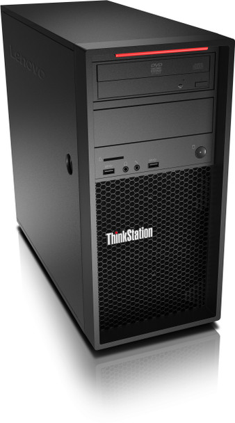 Lenovo ThinkStation P520c Workstation - Intel Xeon 2123, 8GB RAM, 512GB SSD, Windows 10 Pro, 30BX002MUS