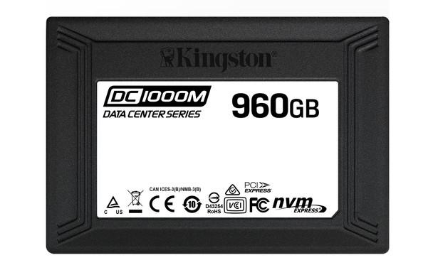 Kingston 960GB DC1000M U.2 Enterprise NVMe Solid State Drive