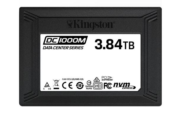 Kingston 3.84TB DC1000M U.2 Enterprise NVMe Solid State Drive