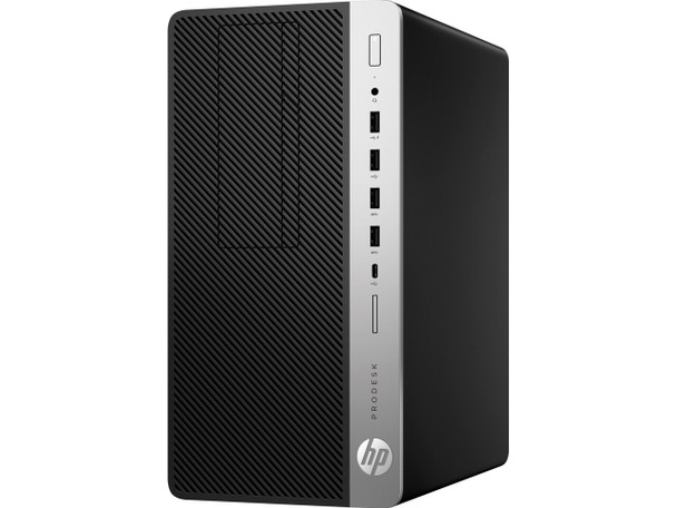 HP ProDesk 600 G4 Tower - Intel i3 - 3.60GHz, 8GB RAM, 500GB HDD, Windows 10 Pro, 8TV28U8