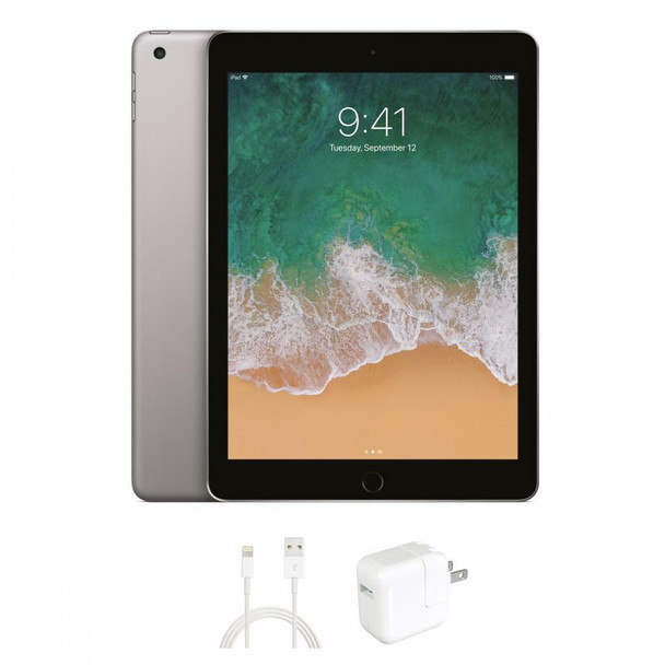 "Apple iPad 5 Silver 32GB, 9.7"" Touchscreen, WiFi"