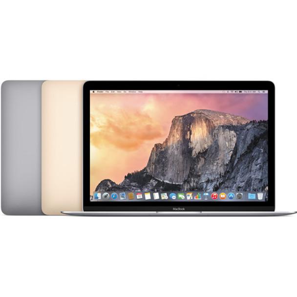 """Apple Macbook - 12"""" Display, Intel Core M-5Y31, 8GB RAM, 240GB SSD, Silver - MF855LL/A"""