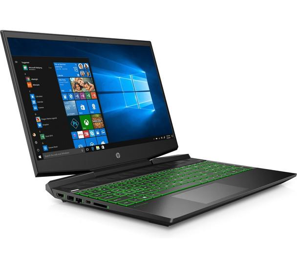 "HP Pavilion Gaming 15-dk1035nr - 15.6"" Display, Intel i5, 8GB RAM, 256GB SSD, GeForce GTX 1050 3GB, Shadow Black"