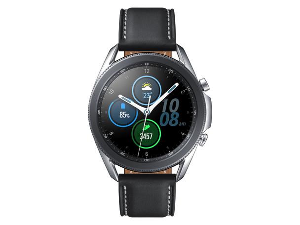 Samsung Galaxy Watch3 - 45mm, WiFi - Bluetooth, Mystic Silver - SM-R840NZSAXAR