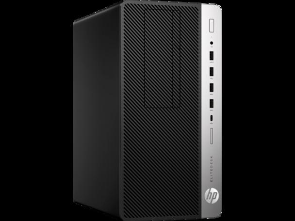 HP EliteDesk 705 G4 Tower - AMD A10, 8GB RAM, 500GB HDD, Windows 10 Pro