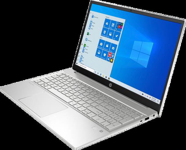 "HP Pavilion 15-eg0015cl Notebook - 15.6"" Touch-Screen, Intel i7, 12GB RAM, 512GB SSD, Windows 10, Silver"