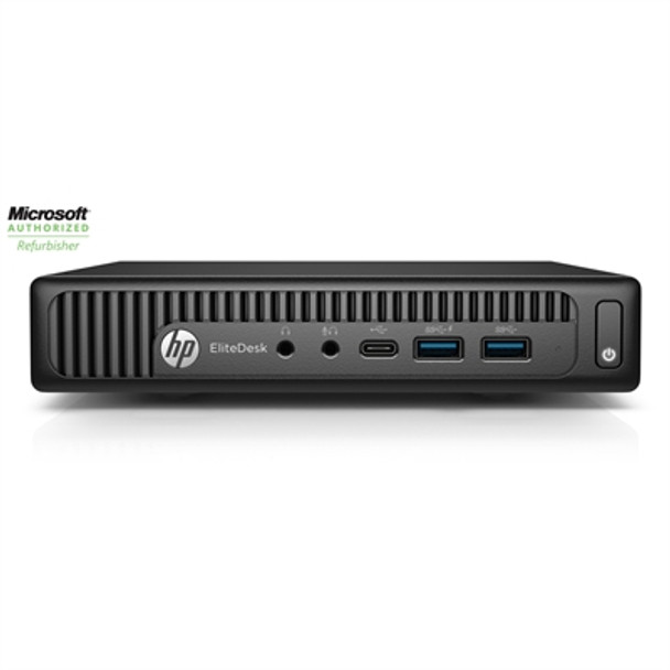 HP EliteDesk 800 G2 Mini Desktop - Intel i5, 8GB RAM, 256GB SSD, Windows 10 Pro